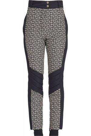 Balmain Monogram slim-fit trousers