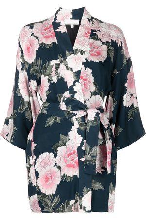 FLEUR DU MAL Haori silk kimono robe