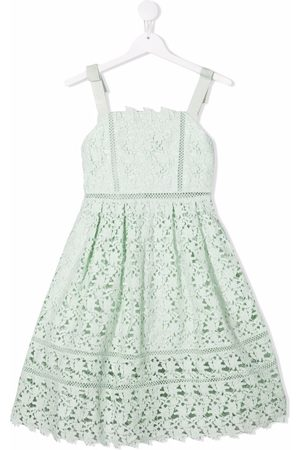 Self-Portrait Kids Girls Casual Dresses - Azaelea lace dress