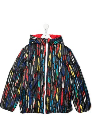 Paul Smith TEEN ski-print padded down jacket