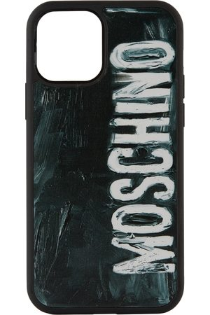 Moschino Phone Cases - Painted Logo iPhone 12/12 Pro Case