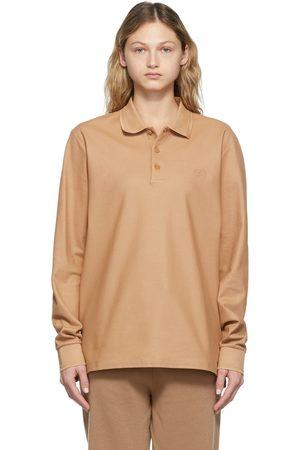 Burberry Women Polo Shirts - Core LS Polo