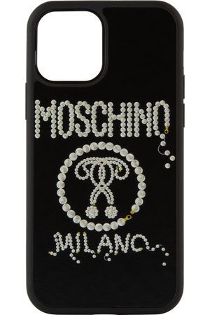Moschino Pearl Double Question Mark iPhone 12/12 Pro Case