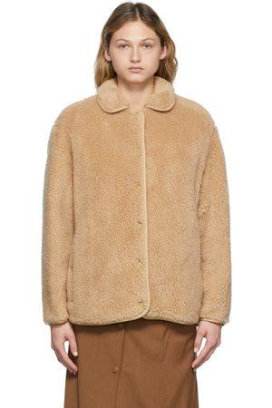 Burberry Beige Kettlewell Fleece Jacket