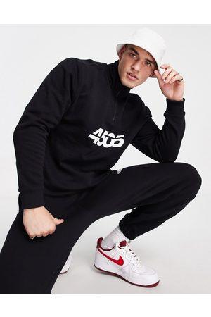 ASOS Oversized sweatshirt with 1/4 zip