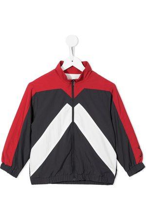 Kenzo Colour-block zip-up track jacket