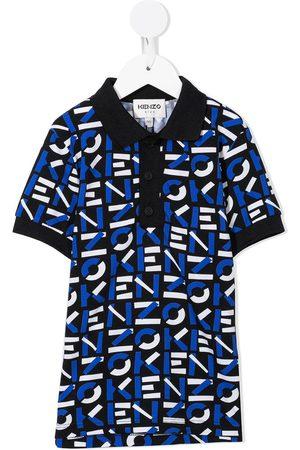 Kenzo Logo-print short-sleeved polo shirt