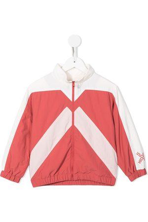 Kenzo Two-tone zip-up track jacket