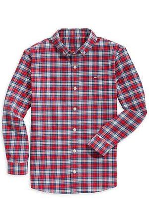 Vineyard Vines Boys Shirts - Little Boy's & Girl's Plaid Flannel Button-Down Shirt