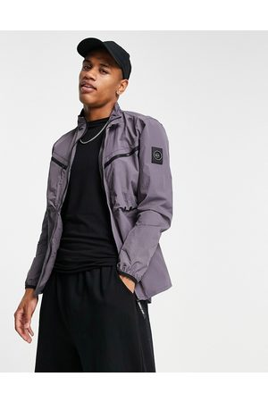 Marshall Artist Airscape overshirt in mauve